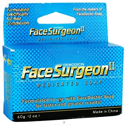 DROPPED: Face Doctor - FaceSurgeon Medicated Soap - 2 oz. CLEARANCE PRICED