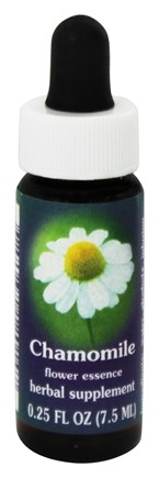 DROPPED: Flower Essence Services - Chamomile Flower Essence - 0.25 oz.