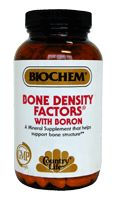 DROPPED: BioChem by Country Life - Bone Density Factors Formula - 100 Tablets