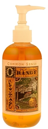 DROPPED: Common Sense Farm - Valencia Orange Hand & Body Cleanser - 8.5 oz. CLEARANCE PRICED