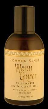 DROPPED: Common Sense Farm - Warm Ginger All-Over Skincare Oil - 3.4 oz.