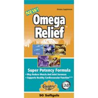 DROPPED: Country Life - Omega Relief - 90 Softgels