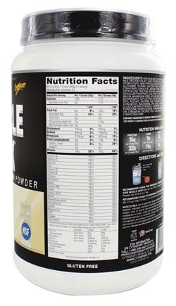 Cytosport - Muscle Milk Genuine Nature's Ultimate Lean Muscle Protein Vanilla Creme - 2.47 lbs.