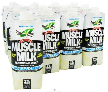 DROPPED: Cytosport - Muscle Milk RTD Nutritional Shake Vanilla Creme - 17 oz. DAILY DEAL