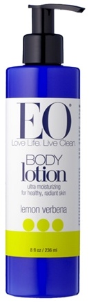 DROPPED: EO Products - Body Lotion Lemon Verbena - 8 oz.