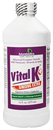 DROPPED: Futurebiotics - Vital K+ Ginseng Extra - 16 oz.
