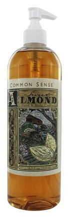 Common Sense Farm - Sweet Almond Hand & Body Cleanser - 16.9 oz.