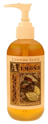 DROPPED: Common Sense Farm - Sweet Almond Hand & Body Cleanser - 8.5 oz. CLEARANCE PRICED