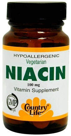 DROPPED: Country Life - Niacin 100 mg. - 100 Tablets