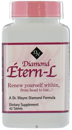 DROPPED: Diamond Herpanacine - Diamond Etern-L - 42 Tablets CLEARANCE PRICED