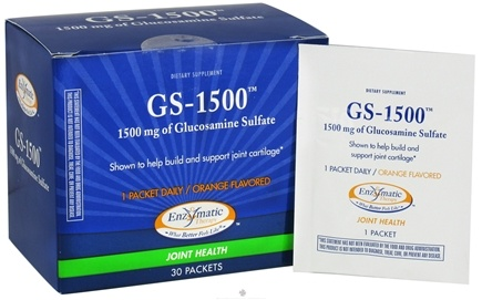 DROPPED: Enzymatic Therapy - GS-1500 Orange Flavored - 30 Packet(s) CLEARANCE PRICED