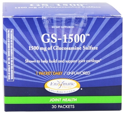 DROPPED: Enzymatic Therapy - GS-1500 Unflavored - 30 Packet(s)