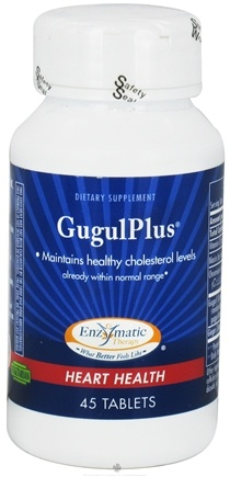 DROPPED: Enzymatic Therapy - GugulPlus - 45 Tablets CLEARANCE PRICED