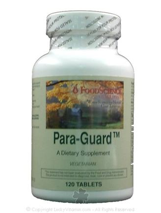 DROPPED: FoodScience of Vermont - Para-Guard - 120 Tablets