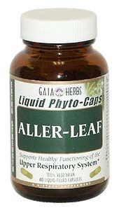 DROPPED: Gaia Herbs - Aller-Leaf Travel Size - 10 Capsules
