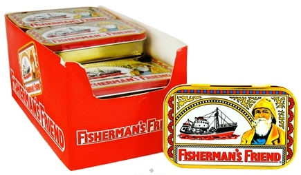 Fisherman's Friend - Menthol Cough Suppressant Lozenges Original Extra Strong - 35 Lozenges