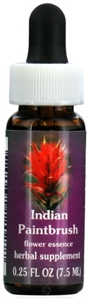 DROPPED: Flower Essence Services - Indian Paintbrush Flower Essence - 0.25 oz. CLEARANCE PRICED