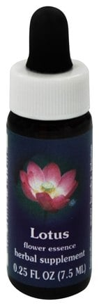 Flower Essence Services - Lotus Flower Essence - 0.25 oz.
