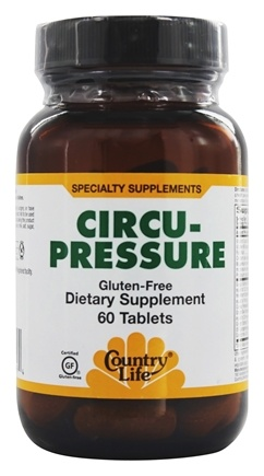 DROPPED: Country Life - Circu-Pressure - 60 Tablets Formerly Biochem
