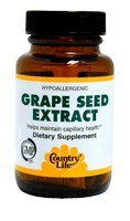 DROPPED: Country Life - Grape Seed Extract 50 mg. - 24 Vegetarian Capsules