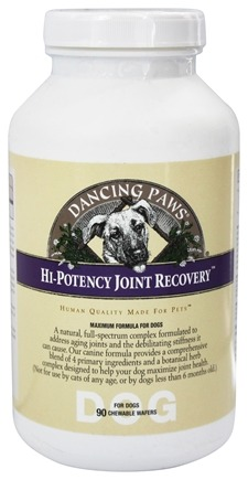 Dancing Paws - Canine Hi-Potency Joint Recovery - 90 Wafers