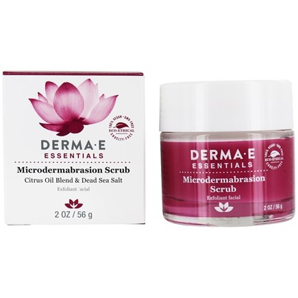 Derma-E - Microdermabrasion Scrub Exfoliator With Dead Sea Salt - 2 oz.