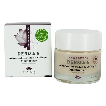 Derma-E - Deep Wrinkle Reverse Moisturizer with Peptides Plus - 2 oz.