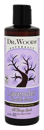 DROPPED: Dr. Woods - Shea Vision Castile Soap With Organic Shea Butter Soothing Lavender - 8 oz. CLEARANCE PRICED