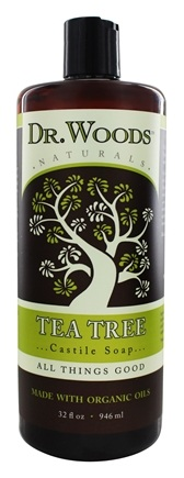 Dr. Woods - All Natural Eco-Friendly Castile Soap Pure Tea Tree - 32 oz.