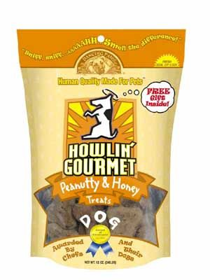 DROPPED: Dancing Paws - Howlin' Gourmet¿ Peanutty & Honey - 12 oz.