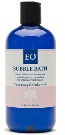 DROPPED: EO Products - Bubble Bath Ylang Ylang & Cedarwood - 12 oz.