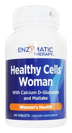 Enzymatic Therapy - Healthy Cells Woman - 60 Tablets Formerly Healthy Cells Breast
