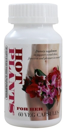 Enzymatic Therapy - Hot Plants For Her - 60 Vegetarian Capsules