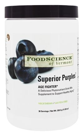 FoodScience of Vermont - Superior Purples Age Fighter - 328.5 Grams (11.59 oz.)