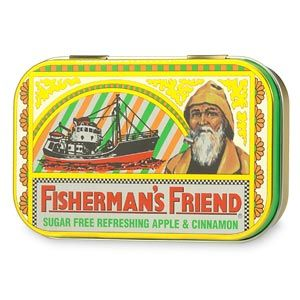 DROPPED: Fisherman's Friend - Fisherman's Friend Sugar Free Tins Apple/Cinnamon - 35 Lozenges