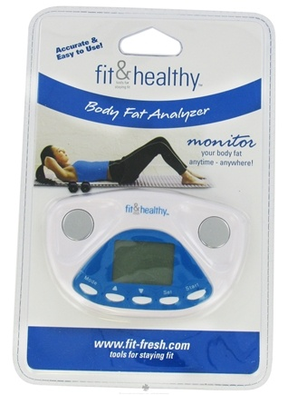 DROPPED: Fit & Fresh - Fit & Healthy Body Fat Analyzer - CLEARANCE PRICED