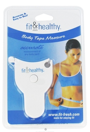 DROPPED: Fit & Fresh - Fit & Healthy Body Tape Measure - formerly by Vitaminder CLEARANCE PRICED