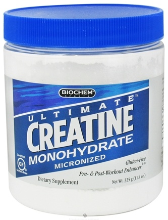 DROPPED: Biochem by Country Life - Ultimate Creatine Monohydrate - 325 Grams