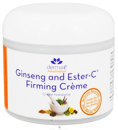 DROPPED: Derma-E - Ginseng and Ester-C Firming Creme - 4 oz.