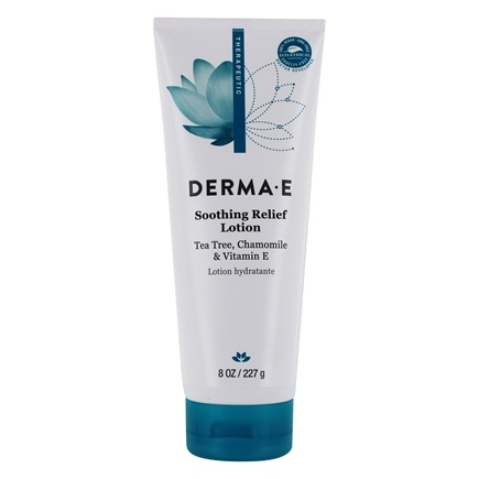 DROPPED: Derma-E - Itch Relief Lotion with Tea Tree, E and Chamomile - 6 oz.