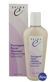 DROPPED: Derma-E - Pycnogenol Facial Cleanser, Fragrance Free - 4 oz.