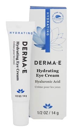 Derma-E - Hydrating Eye Creme With Hyaluronic Acid and Pycogenol - 0.5 oz.
