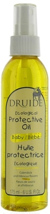 DROPPED: Druide Body Care - Baby Protective Oil - 6 oz.