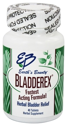 DROPPED: Earth's Bounty - Bladderex - 40 Tablets