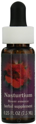 DROPPED: Flower Essence Services - Nasturtium Flower Essence - 0.25 oz. CLEARANCE PRICED