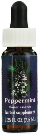 DROPPED: Flower Essence Services - Peppermint Flower Essence - 0.25 oz. CLEARANCE PRICED