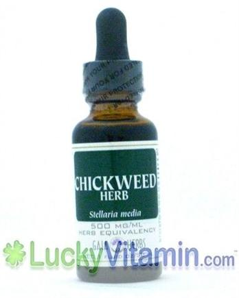DROPPED: Gaia Herbs - Chickweed - 1 oz.
