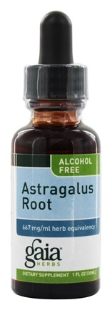 Gaia Herbs - Astragalus Root Alcohol Free - 1 oz. Formerly Chinese Astragalus Alcohol Free