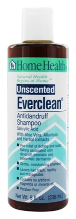 Home Health - Everclean Antidandruff Shampoo Unscented - 8 oz.