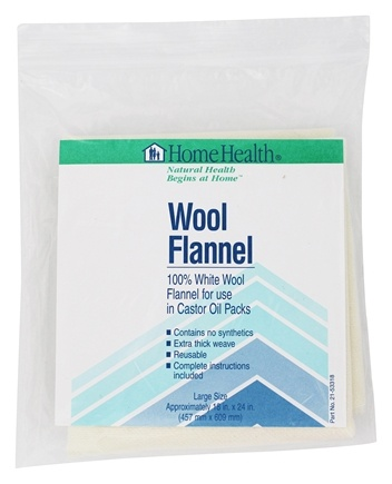 "Home Health - Wool Flannel Large - Approx. 18"" x 24"""